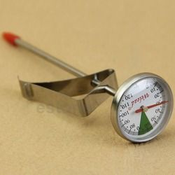 Instant Read Stainless Steel Kitchen Food Cooking Milk Coffee Probe Thermomete