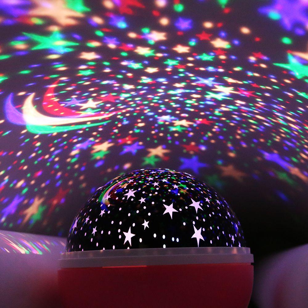 AGM LED Night Light Starry Sky <font><b>Projectors</b></font> Luminaria Stars Moon Novelty Lights Lamp Illusion Nightlight For Children Baby Decor