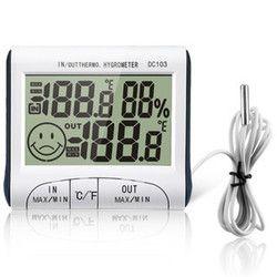 Погодная станция Ho использовать держать крытый и открытый использовать измеритель температуры и влажности дисплей температуры термометр ...