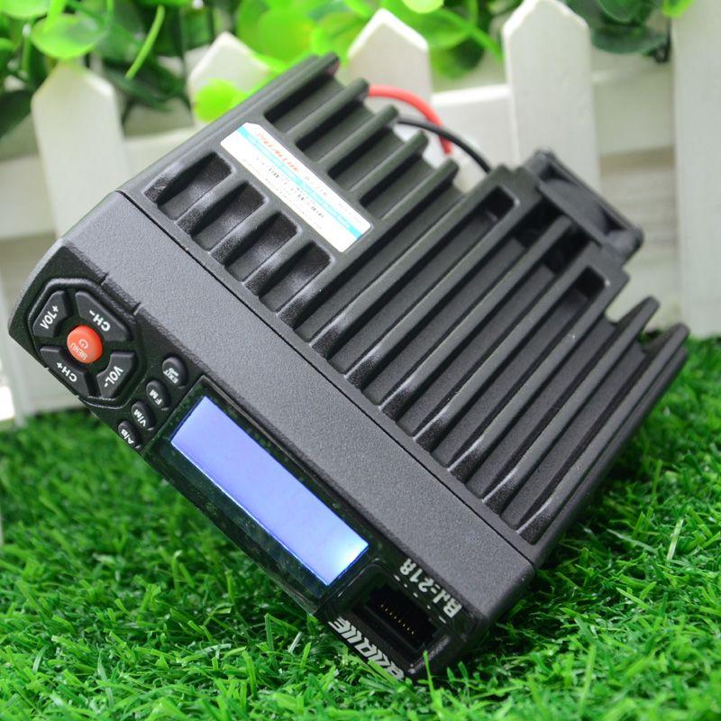 BJ-218 radioamateur 25 w autoradio bi-bande émetteur-récepteur longue distance radio Pour Camion BJ 218 nouveau Portable station de radio