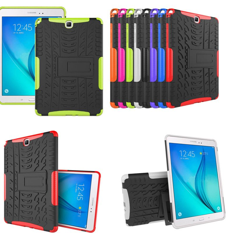 Hh Гибридный Прочный Combo Heavy Duty жесткий футляр для Samsung Galaxy Tab 9.7 SM P550 p555 T555 T550 стенд Планшеты корпус