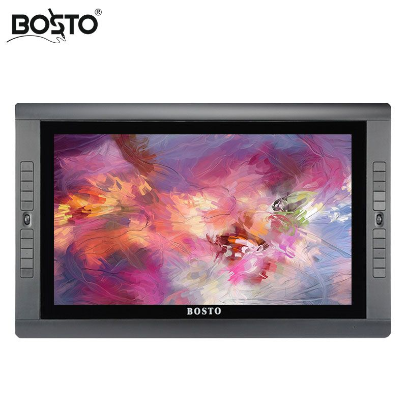 BOSTO KINGTEE 22UX Grafiken Tablet zu Zeichnen 20 pcs express schlüssel, tablet monitor, stylus, grafiken monitor, interactive pen display