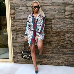 2018 Africain Vêtements Robes Sexy Rétro National Grand de Bon Augure Dashiki De Mode Lâche