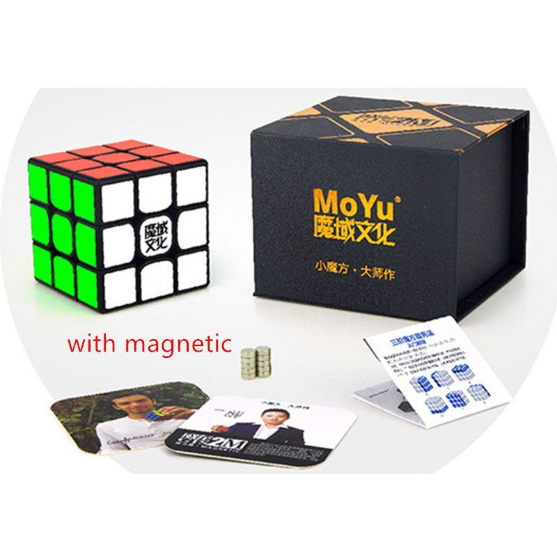 Moyu WeiLong GTS Series 3X3X3 Magnetic Magic Speed <font><b>Cube</b></font> Position Puzzle for WCA GTSV1 GTS2 GTS2M Version II GTS