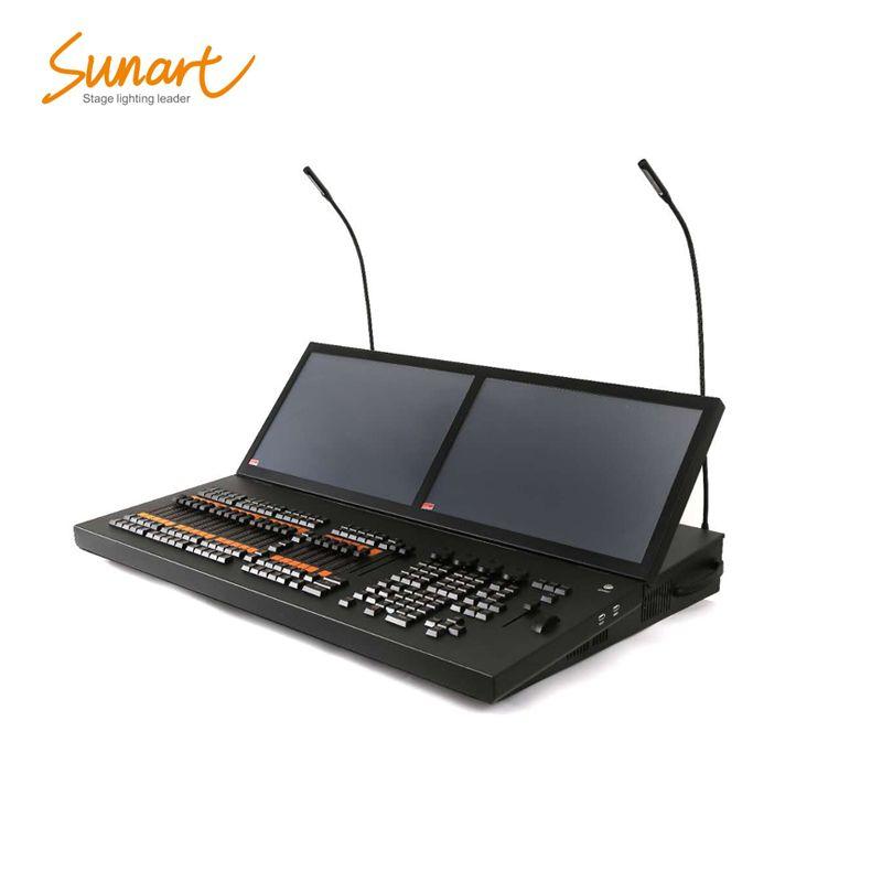 Kostenloser versand MA doubel/Triple touch sreen bühne wirkung licht ausrüstung controller konsole für DJ disco strahl waschen spot sharpy