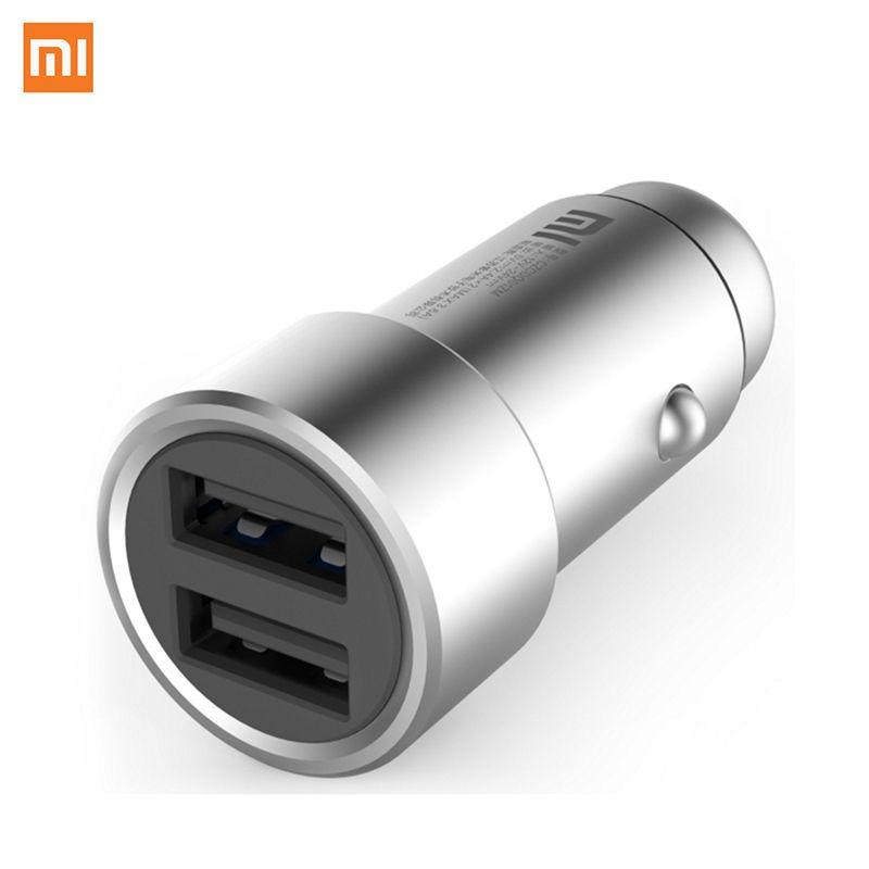 Xiaomi 5 V 3.6A avec LED Rapide Rapide Chargeur Intelligent Deivce Universel 2 Double USB Chargeur De Voiture pour Hommes Filles Rapide Voiture Téléphone chargeur