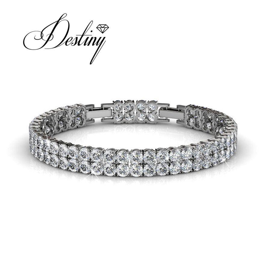 Destiny Jewellery Embellished with crystals from Swarovski bracelet Bracelet pulseiras DB0055