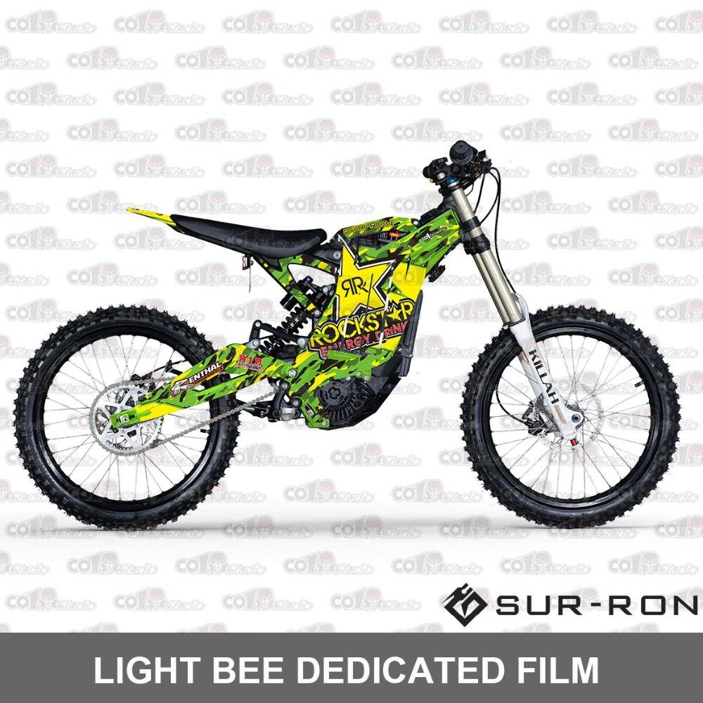 Spezielle aufkleber Sur-ron licht bee 3 M Geändert volle motorrad aufkleber
