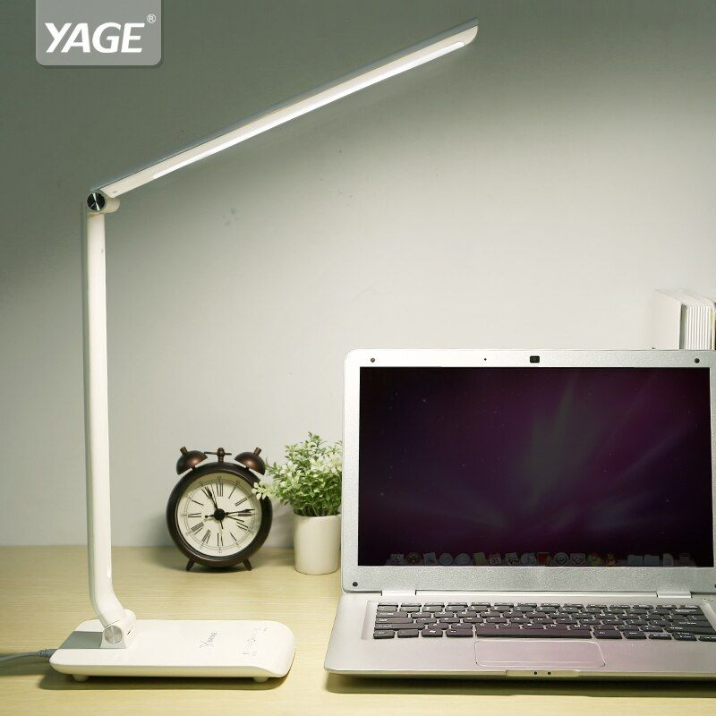 Led Cold/Warm Light Table Lamp Desk Table Light Led Desk Lamps Flexo Flexible Lamp <font><b>Office</b></font> Table Light Bureaulamp Led Lamp Table