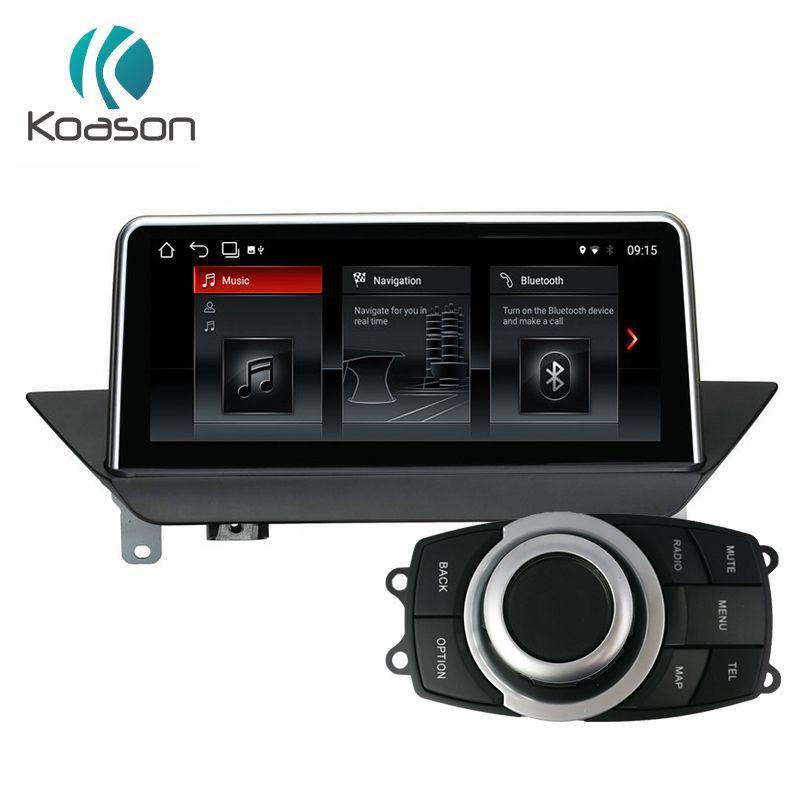 Koason android 8.1 GPS Navigation für BMW X1 E84 2009-2015 Wifi, Bluetooth, radio, audio touchscreen, idrive Auto Multimedia-Player