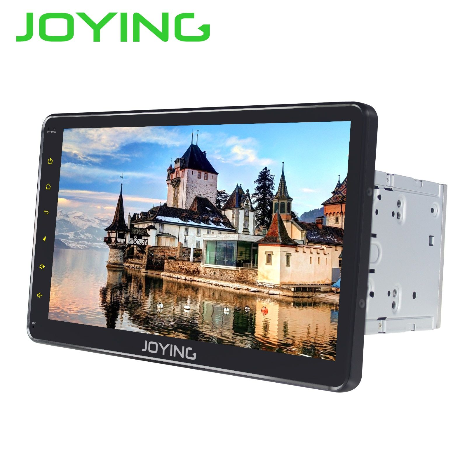 JOYING 10,1 zoll Android 8.1 2 din Auto Radio 4 GB + 32 GB Octa Core GPS IPS HD Gebaut in DSP unterstützung Schnelle Boot Android auto stereo BT