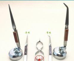 Rebound Perhiasan Las Pinset Melengkung Lurus Solder Penjepit Selflock Jewelers Perhiasan Membuat Alat Perbaikan mengunci pick