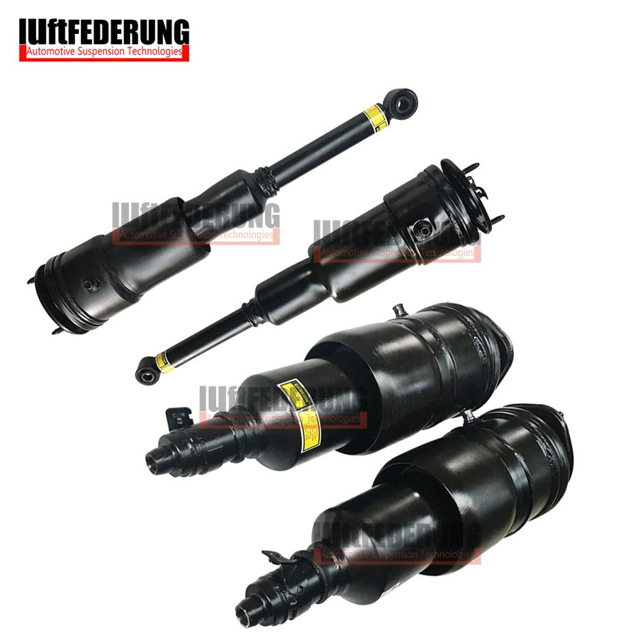 Luftfederung 4pcs LS600 Front+Rear Suspension Air Spring Air Apring Shock 48020-50240 48010-50240 48080-50201 48090-50201