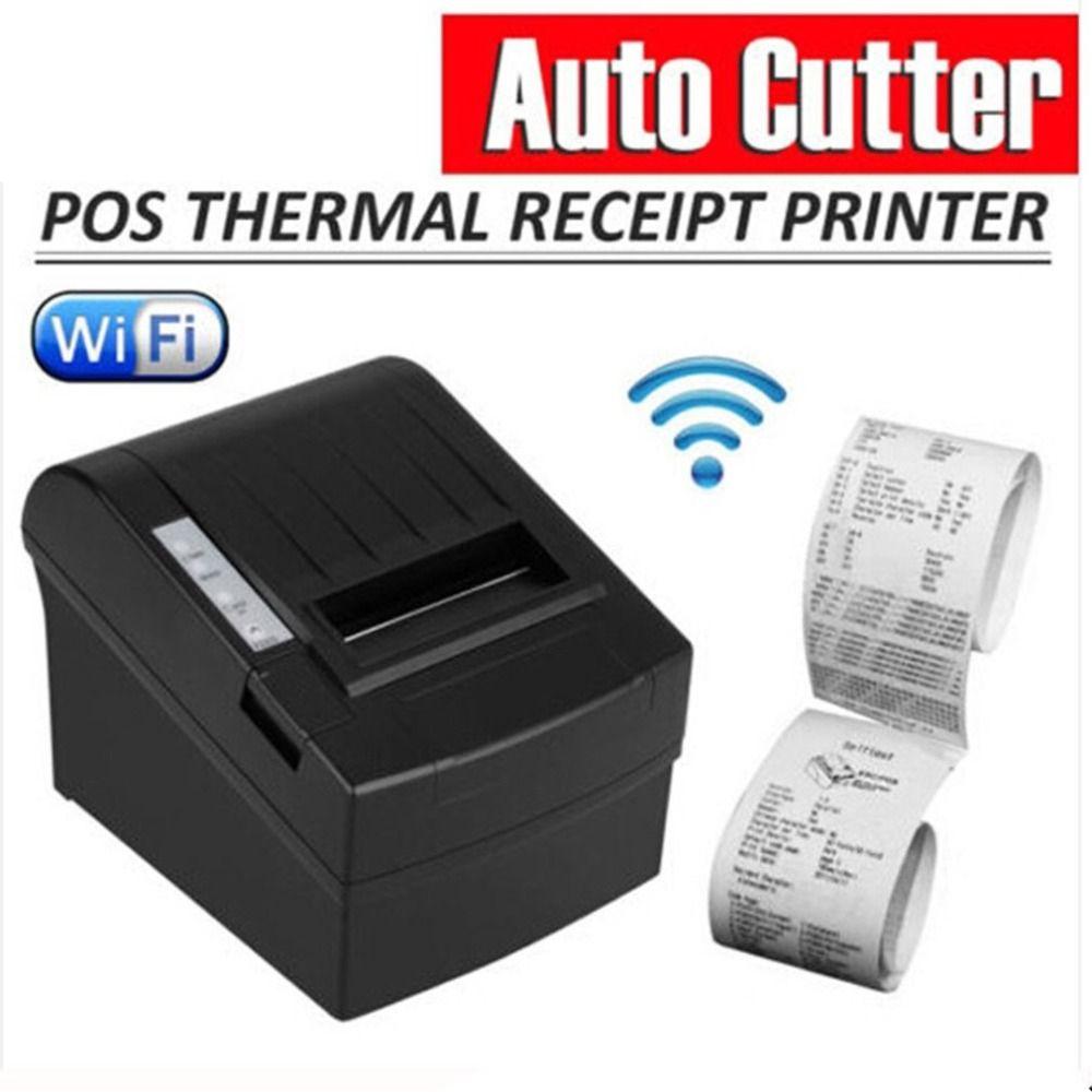 POS-8220 Tragbare Drahtlose WIFI POS Thermische Empfang Drucker 80mm Auto Cutter USB + WIFI Wasserdicht Öl-proof Thermische drucker
