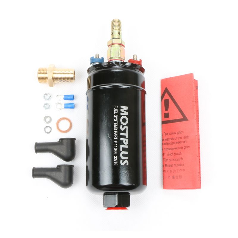 MOSTPLUS Genuine 300LPH Performance Universal External Inline 044 Fuel Pump & Pumps Replacing 0580254044