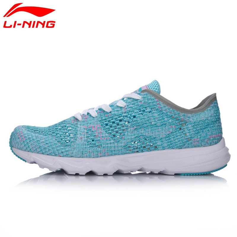 Li-Ning Women's Candy Running Shoes Light Weight Textile Breathable Sport Shoes Sneakers ARBM018 XYP497