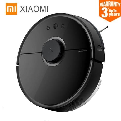 NEW! BEST Original Wet and dry Xiaomi Roborock Vacuum Cleaner MI Robot 2 Mopping Sweeping Robot Laser 2000Pa Suction LDS Robot