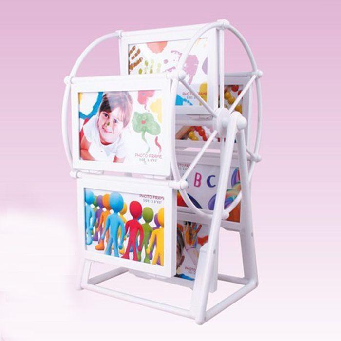Mode cadre photo vent millphoto cadre combinaison enfants d'anniversaire cadeau de mariage bureau décoration de la maison peut mettre en 12 pcs photo