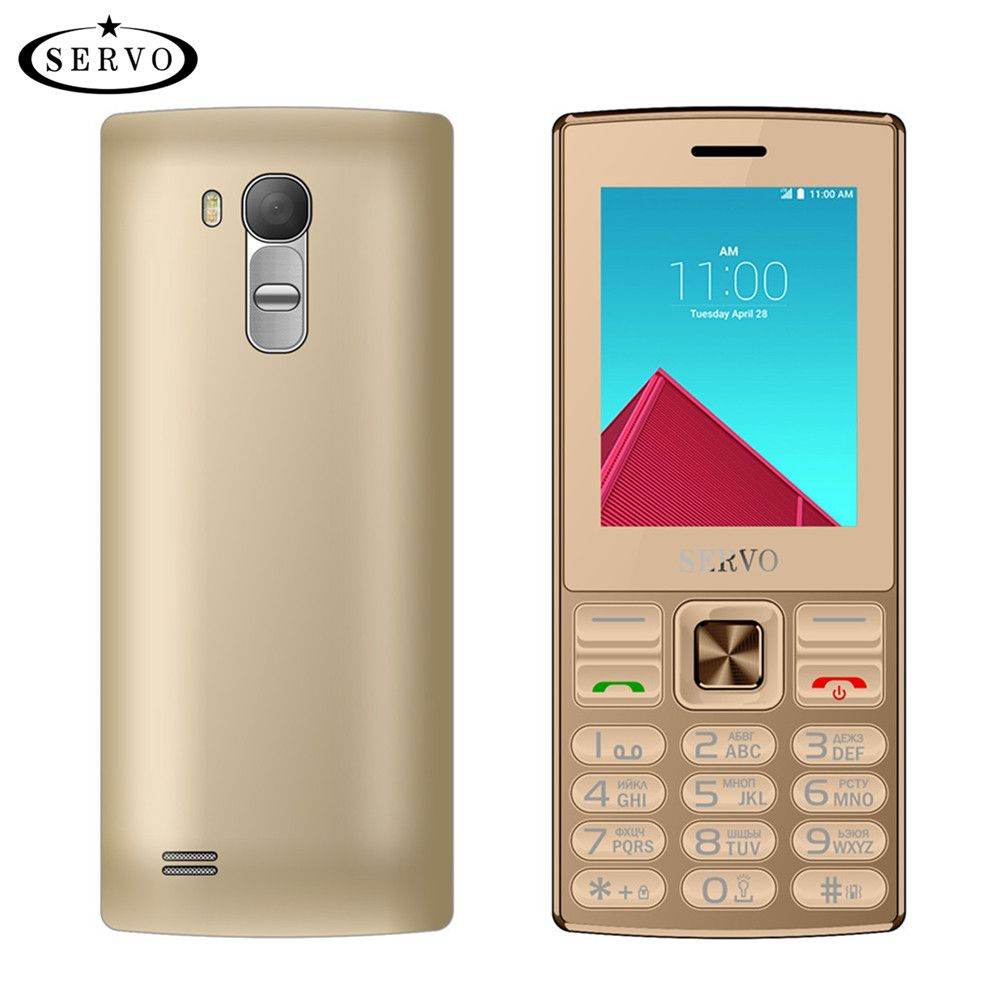 original SERVO V9300 Phone Quad <font><b>Band</b></font> 2.4 screen Dual SIM Cards cellphones Bluetooth Flashlight MP3 MP4 FM GPRS Russian Language