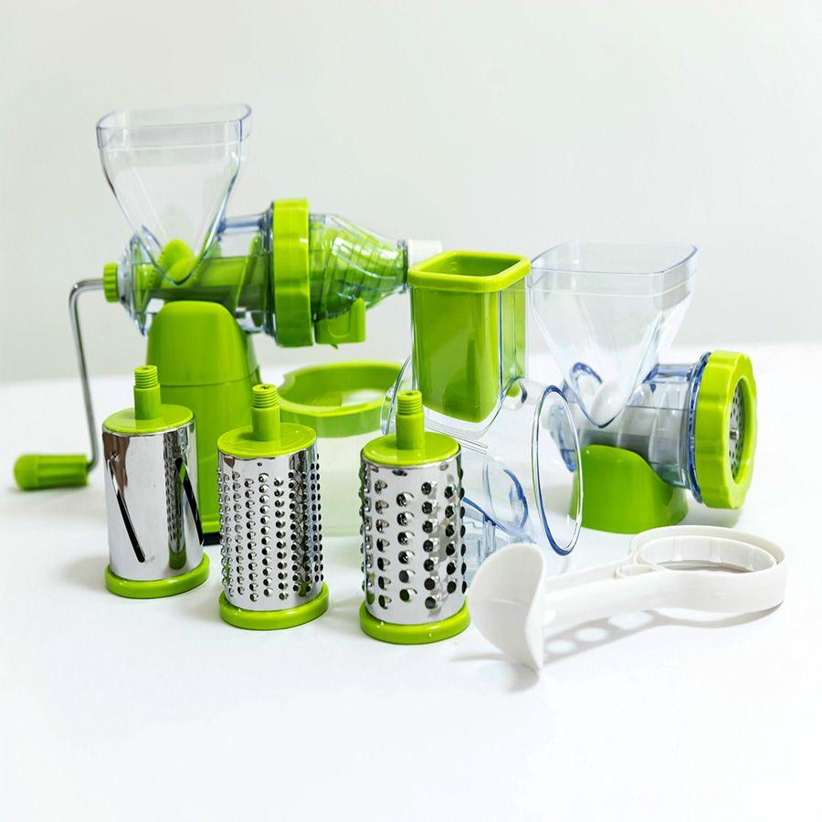Mini Juicer Handheld Fruit Juicer Natural Convenience Ice Cream Maker Manual Household Fruit Juicer Vegetable Shredder Slicer
