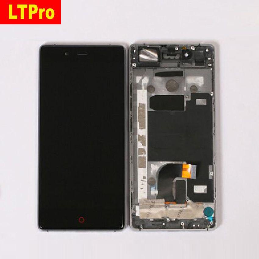 LTPro TOP Qualität Voll LCD Display Touchscreen Digitizer Montage mit Rahmen Für ZTE Nubia Z9 NX508J Ersatz