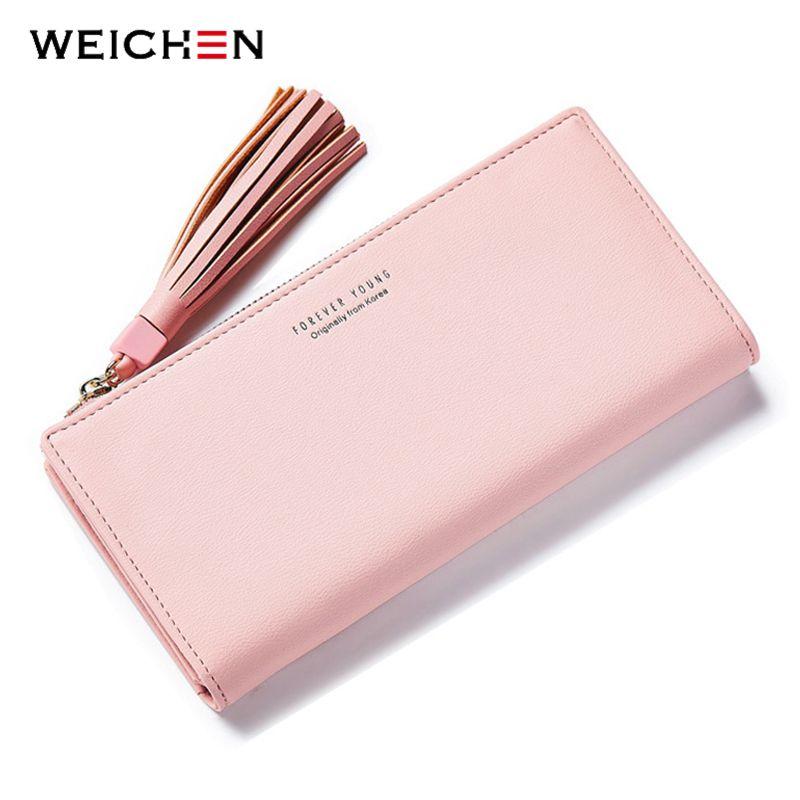 Big Capacity Women Wallets Ladies Clutch Female Fashion Leather Bags ID Card Holders Cell Phone Cash Wallet Ladies purses bolsas