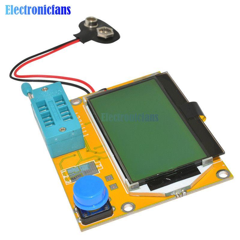 LCR-T4 Mega328 M328 Multimeter LCD Hintergrundbeleuchtung Transistor Tester Diode Triode Kapazität ESR Meter 12864 Display MOS PNP NPN LCR