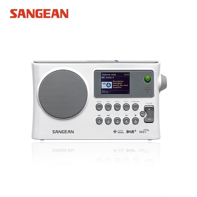 WFR-28C SANGEAN livraison gratuite Radio Internet/DAB +/FM-RDS/réseau USB WIFI radio stéréo récepteur radio Sangean fm