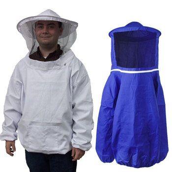 New Camouflage Beekeeping Jacket Protective Smock Bee Coat Suit Clothes Defense Supplies Hot LXY9 DE17