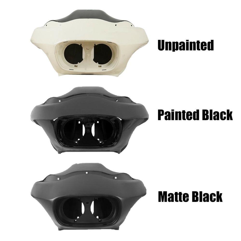 Motorrad Unpainted Innere & Äußere Scheinwerfer Verkleidung Für Harley FLTR Road Glide 1998-2013