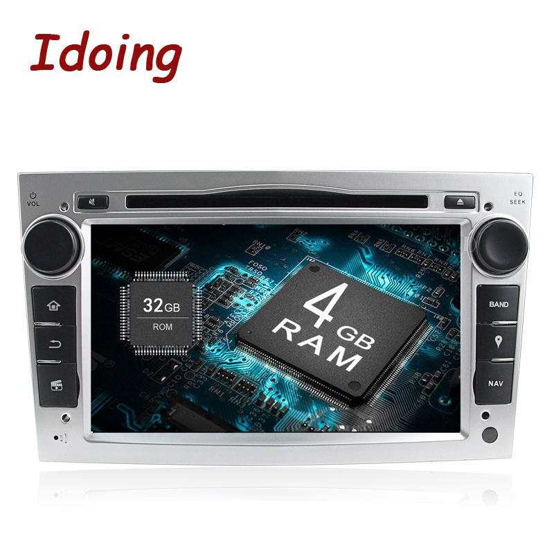Idoing Android8.0 4g + 32g 8 Core 2Din Für Opel Vectra Corsa D Astra H Schnelle Boot Lenkung -rad Auto DVD Multimedia Video player 3g