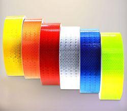 Neue Typ 5 cm x 3 m Auto Reflektierende Material Band Aufkleber Automobil Motorräder Sicherheit Warnband Reflektierende Film Auto aufkleber