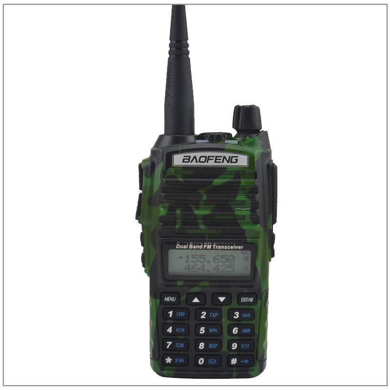 Baofeng Radio UV-82 Walkie Talkie Color Camouflage Dual Band VHF/ UHF Ham Radio Transceiver Baofeng UV82 w/Free Earpiece