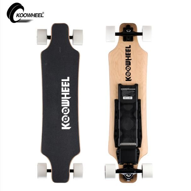 Koowheel Upgraded 2 Hub Motors Electric Skateboard 5500mAh Samsung 4 Wheel Electric Scooter Electricon Electric Longboard