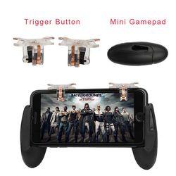 Для PUBG STG FPS игровой триггер сотовый телефон мобильный контроллер пожарная Кнопка геймпад L1R1 Aim Key джойстик для iphone Android
