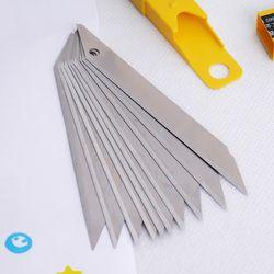 Art Lame 30 Degrés Lame Tondeuse Sculpture Lame Utilitaire Couteau Général 10 Pcs/boîte