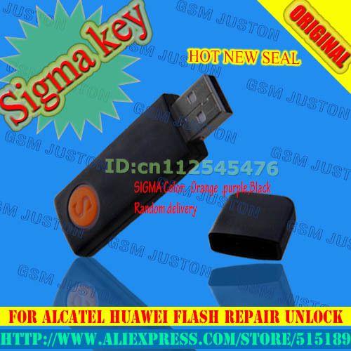 2017 Version sigma clé sigmakey dongle pour alcatel huawei flash réparation déverrouiller