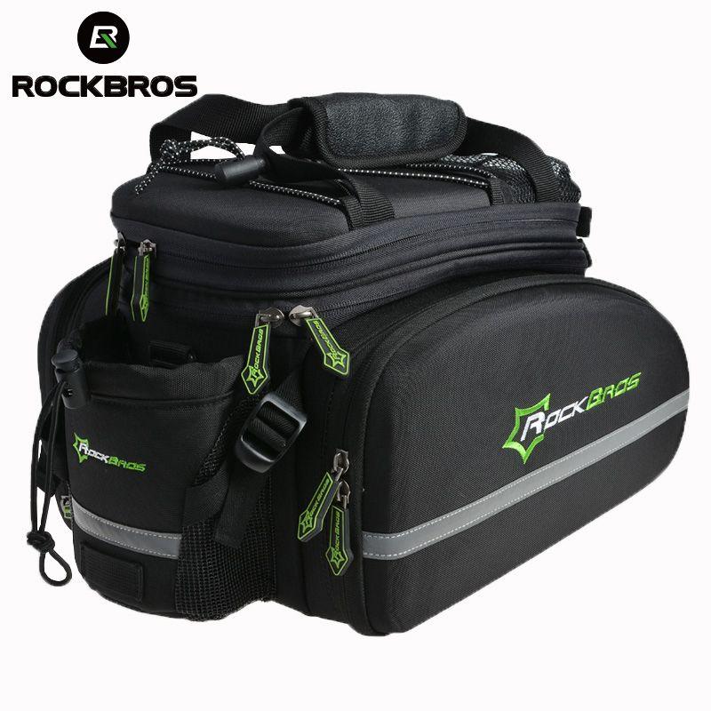 ROCKBROS Stamm Pannier Paket Pack Radfahren Bike Hinten Sattel Pack Tasche Multi-funktion Bike Fahrrad Hinten Träger Taschen Hinten pack12L