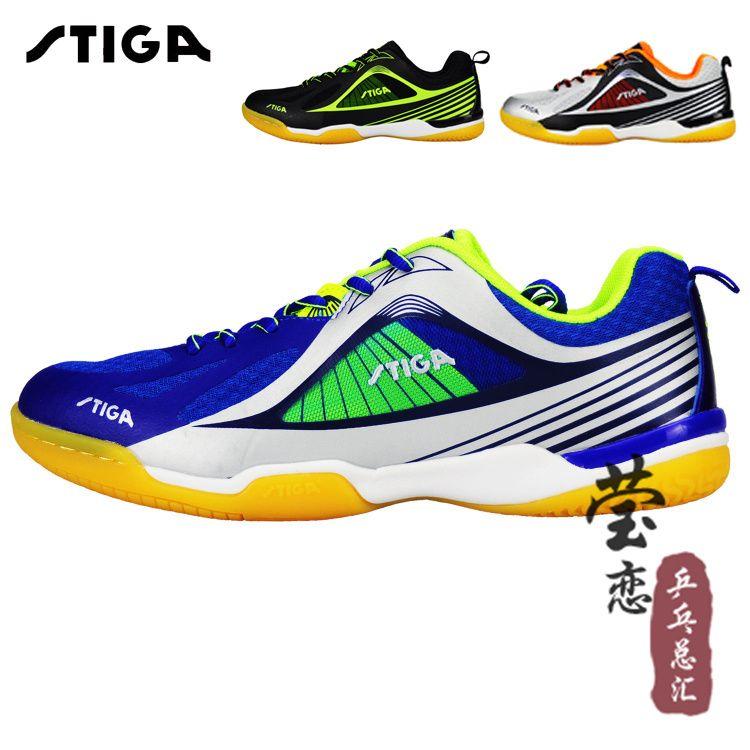 Original stiga tischtennis shoes 2016 neue stil unisex turnschuhe für tischtennisschläger spiel tischtennis-spiel für frau und mann