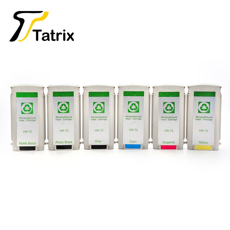For HP 72 ink cartridge compatible for HP C9403A C9370A C9371A C9372A C9373A C9374A use in T610/T770 Hard Drisk/T790ps/T1200