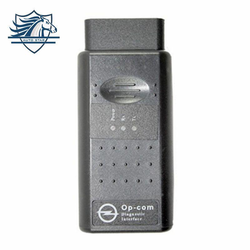 Vente chaude Top Qualité Opcom Op-com 2012 V1.70 Peut OBD2 pour OPEL Firmware V1.70 avec PIC18F458 Support de Puce De Voiture jusqu'à 2014