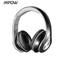 Mpow MPBH059AH Auriculares Inalámbricos Bluetooth Plegable con Micrófono Manos Libres y Hi-Fi Sonido Estéreo Orejeras de Memoria Suave, 13 Horas de Reproducción para PC, TV, Tablet, Móviles Android o IOS