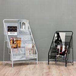 Nouvelle Europe Librero Nordique Simple Moderne De Fer Porte-Revues Étagère D'atterrissage Livres D'images Petite Étagère Bibliothèque En Métal