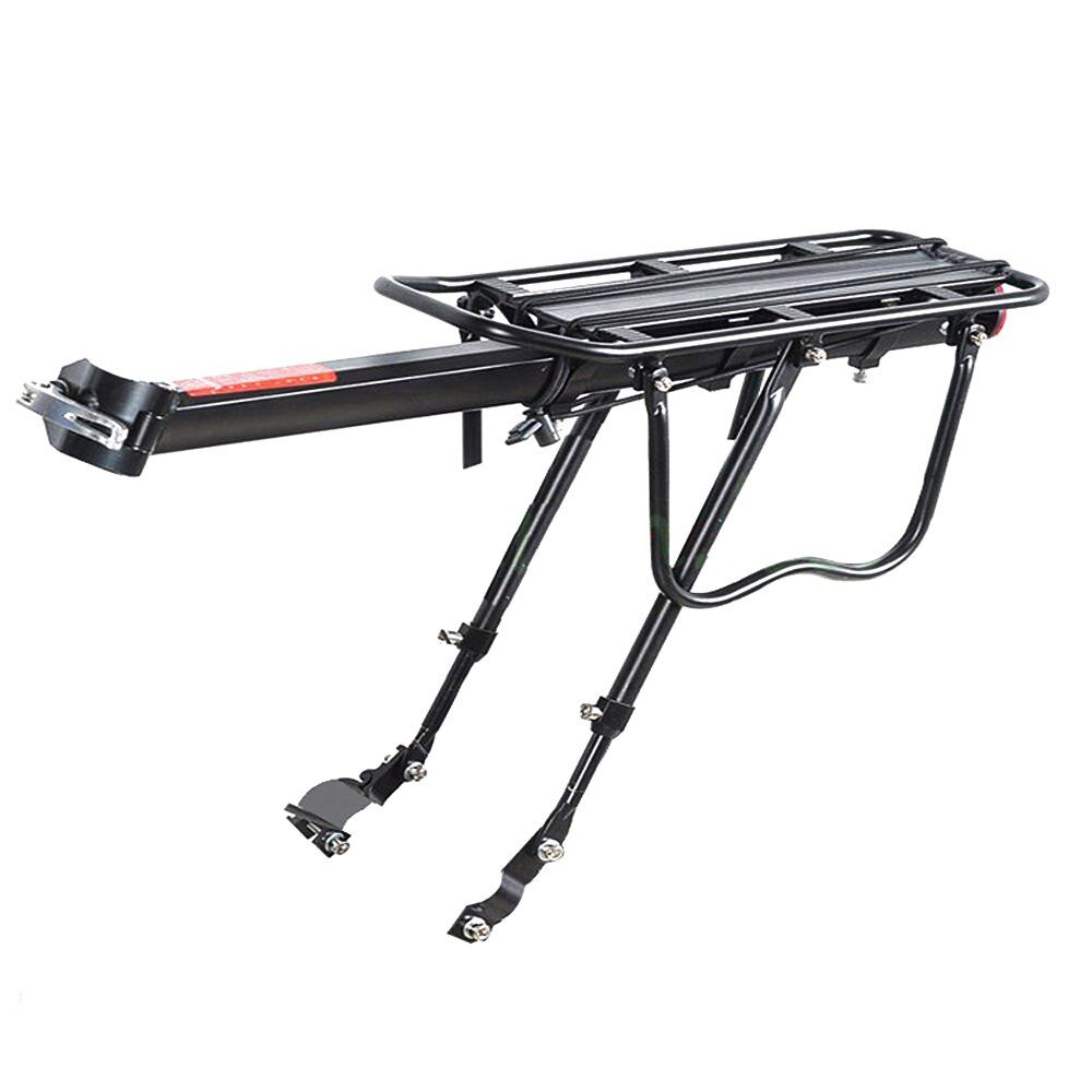 Good deal-Black Bike Bicycle Quick Release Luggage Seat Post Pannier Carrier <font><b>Rear</b></font> Rack Fender 52 X 16.5 X 9.5CM