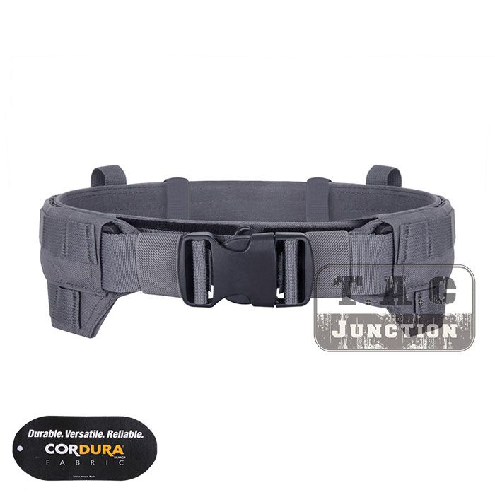 Emerson CP Style Modular Rigger's Belt EmersonGear MRB MOLLE Lightweight Low Profile Tactical Belt Wolf Grey Inner & Outer