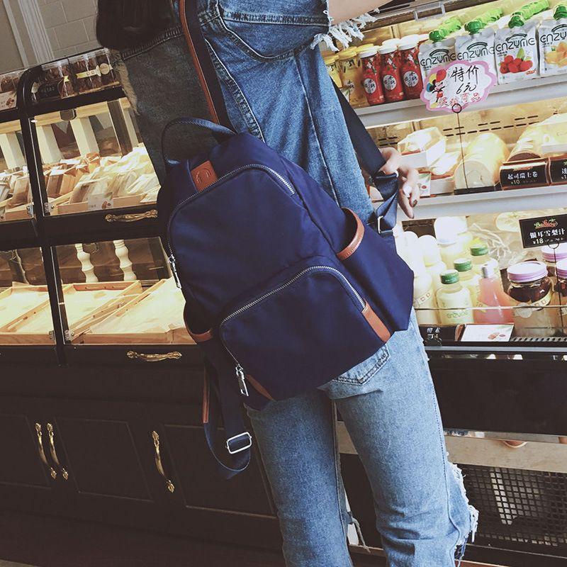 dower me NA01-6 Women's Drawstring PU Leather Backpack School bags Teenage Girls Backpacks for Women High quality ladies Bagpac