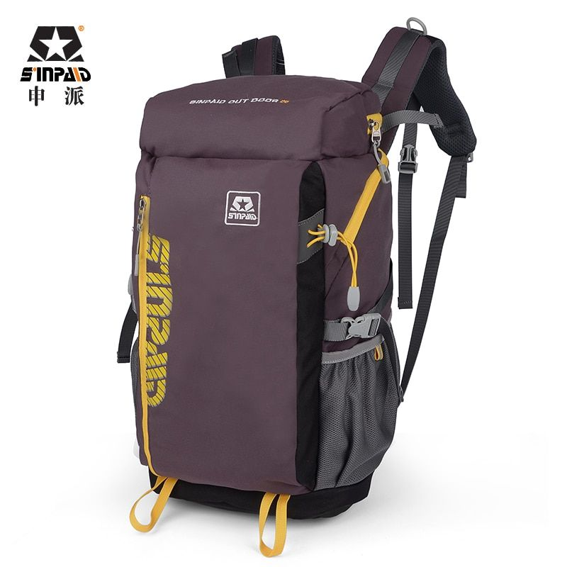 Sinpay sac à dos d'alpinisme multifonction sac de voyage étanche pour équitation voyage Style décontracté couleur bleu kaki et marron