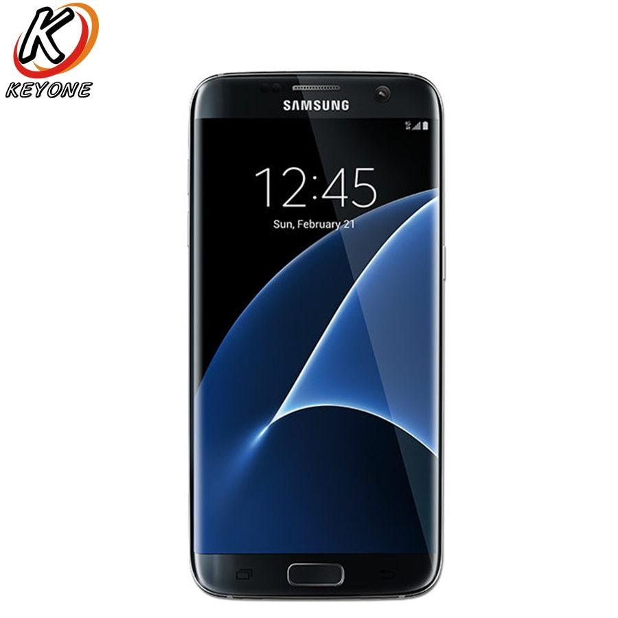 Original Verizon Version Samsung Galaxy S7 Edge G935V LTE Mobile Phone 5.5 Quad Core 4GB RAM 32GB ROM 12MP Android Smart Phone