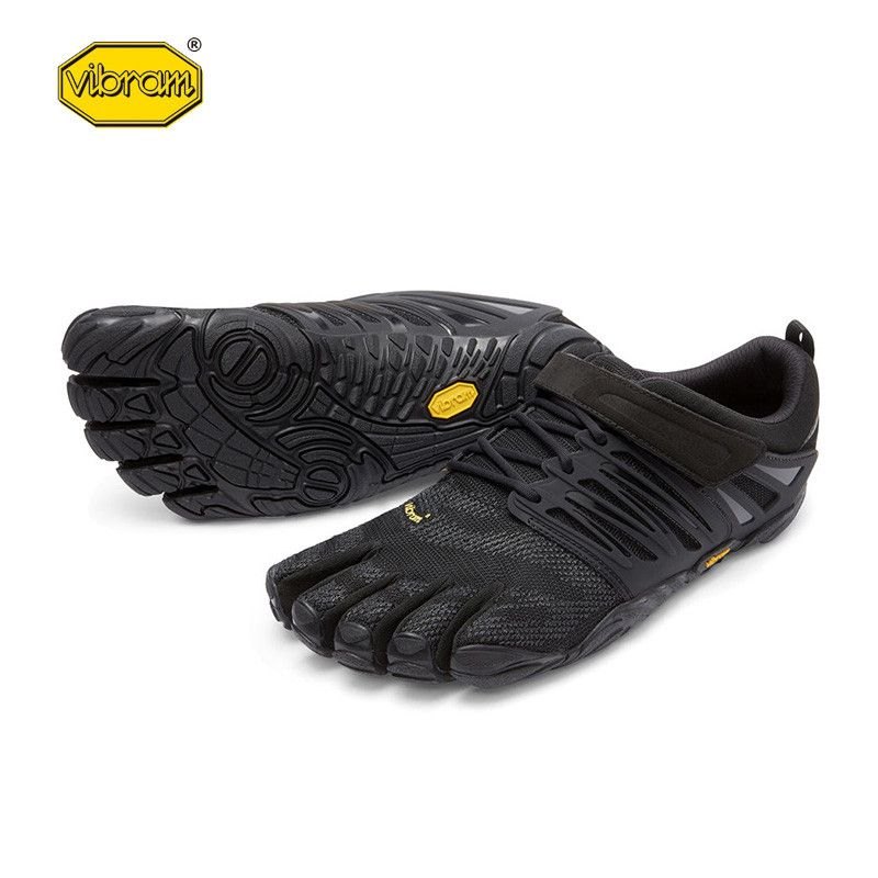 Vibram fivefingers V-Train Hot Sale Design Rubber with Five Fingers Outdoor Slip Resistant Breathable Light weight Shoe for Men