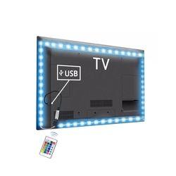 Светодиодная лента с питанием от USB 5 в постоянного тока 2835 RGB/белый/теплый белый водонепроницаемый Светодиодный светильник 1 м 2 м 3 м 4 м 5 м ТВ ...